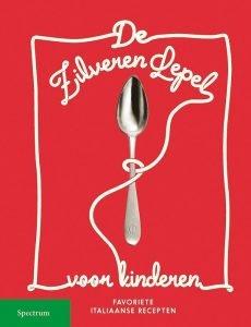De zilveren lepel voor kinderen met favoriete Italiaanse recepten; Kinderkookboek Italiaans; Internationale spaghettidag