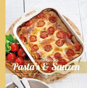 Pasta van het huis: pasta's en sauzen zelfgemaakt van deeg tot saus; Internationale spaghettidag; Kookboek Italiaans