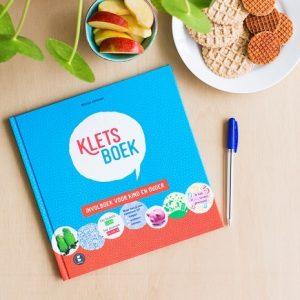 Kletsboek, geschikt voor kleine en grote mensen