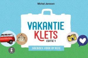 Vakantieklets, doeboek voor op reis; Kletsboeken