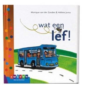 Boek voor beginnende lezers, AVI start Wat een lef!