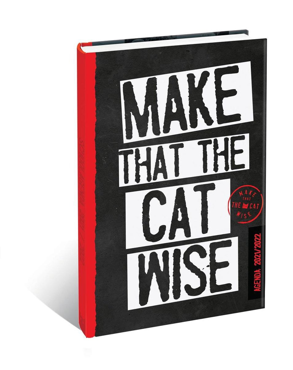 Schoolagenda Make that the cat wise 2020/2021 steenkolen Engels