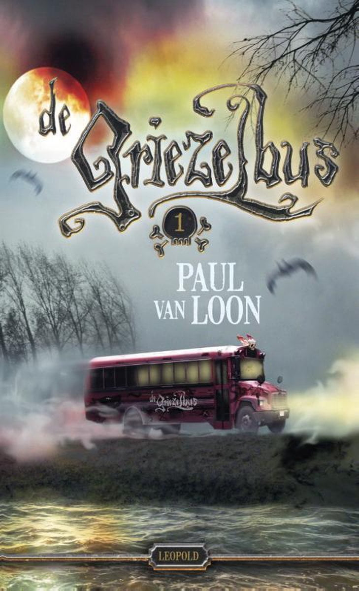 Halloween boeken Griezelbus Paul van Loon