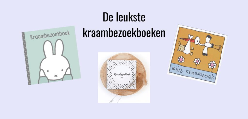 Kraambezoekboeken; Leuke invulboeken voor de kraamtijd