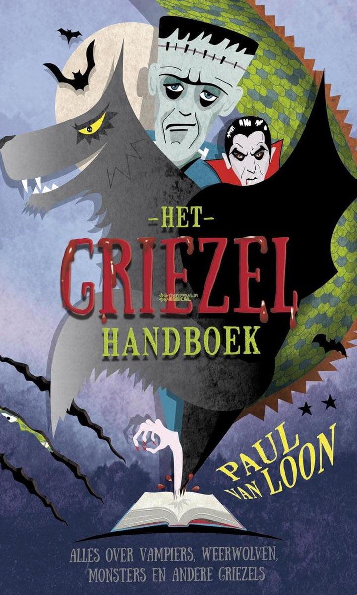 Halloween boek griezelhandboek