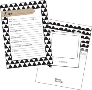 Kraambezoek kaarten, leuk alternatief voor het traditionele kraambezoekboek