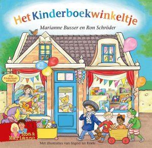 Het Kinderboekwinkeltje is onderdeel van de serie De Winkeltjes door Marianne Busser en Ron Schroder