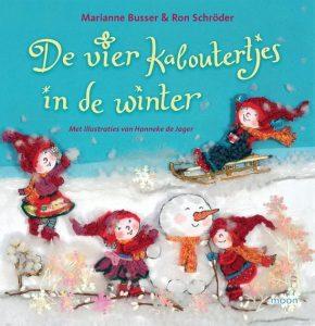 De vier kaboutertjes in de winter door Marianne Busser en Ron Schroder