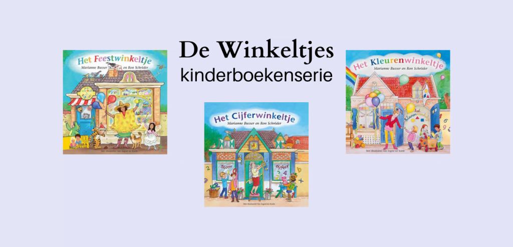 Kinderboekenserie de winkeltjes door Marianne Busser en Ron Schröder
