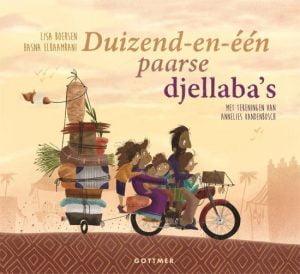 Prentenboek Top 10 2022 Duizend-en-één paarse djellaba's