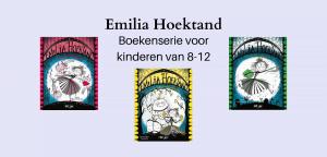 Emilia Hoektand; serie kinderboeken over vampiers voor kinderen van 8-12 jaar